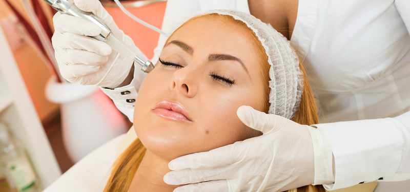 Microdermabrasion Skin Treatment Springwood